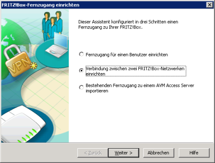 VPN tunnel to FritzBox via IPSec IKEv1 with mutual PSK and